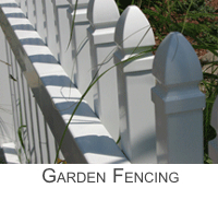 Garden Fences and Fencing