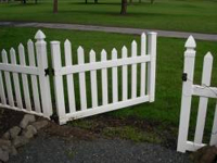 Wood Garden Fences