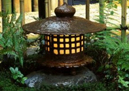 Lighting up the garden at night with garden lighting fixtures
