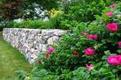 Cottage Garden Retaining Wall