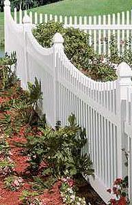 Vinyl Fencing Materials for Cottage Gardens